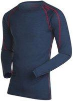 Bergans Soleie Shirt Men navy melange / red