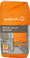 quick-mix Ruck-Zuck Beton 25 kg