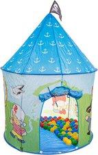 Bieco Piraten-Zelt mit 100 Bällen