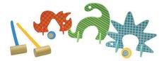 Manhattan Toy Dino Club Krocket-Set