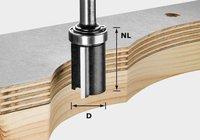 Festool HW-Bündigfräser 19 mm (491028)