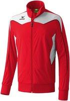 Erima Herren Shooter Trainingsjacke rot/weiß/schwarz