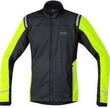 Gore Mythos 2.0 Windstopper Soft Shell Jacke black/ neon yellow