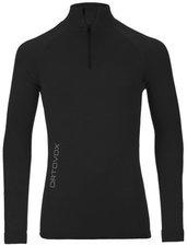 Ortovox Merino Competition Long Sleeve Zipper Men black raven