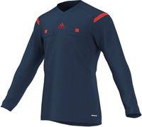 Adidas Referee 14 langarm dunkelblau