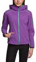 CMP Campagnolo Women Softshell Jacket Zip Hood (3A05396) Purple