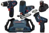 Bosch 5-Tool Kit 10,8 Volt Professional (0 615 990 GF2)