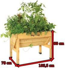 Vegtrug Hochbeet Small 104 X 78 X 80 Cm Gunstig Kaufen
