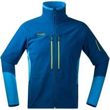 Bergans Visbretind Jacket Men Deep Sea / Bright Sea Blue / Lime