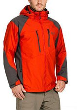 Jack Wolfskin Jasper Jacket Men Bright Pumpkin