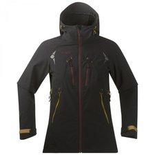 Bergans Utakleiv Lady Jacket W / Hood Black / Dark Maroon
