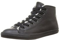 Converse Chuck Taylor Dainty Mid Leather - black mono (544936C)