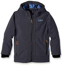 CMP Campagnolo Boy Softshell Jacket (3A00094) Antracite-China Blue