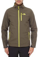 The North Face Men's Durango Jacket Black Ink Green