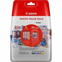 Canon CLI-571 Photo Value Pack (386C006)