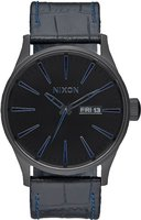 Nixon The Sentry Leather navy gator (A105-2153)