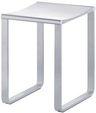 Keuco Plan Hocker Aluminium silber eloxiert weiß (14982170051)