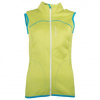 Ortovox Merino Fleece Vest Women Happy Green