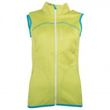 Ortovox Merino Fleece Vest Women Happy Green