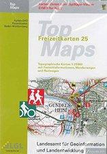 LGL TopMaps Freizeitkarten Baden Württemberg 2011