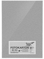 Folia Tonpapier DIN A4 50 Blatt silber matt