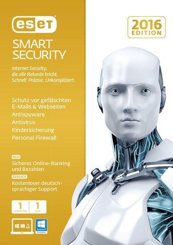 ESET Smart Security 2016 (1 User) (1 Jahr) (DE) (Win) (ESD)