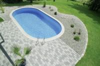 D&W Pool Lago SB 700 x 300 x 120 cm