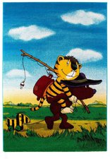 Janosch Teppich Tigers Reise