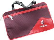 Deuter Wash Bag Lite II aubergine/fire