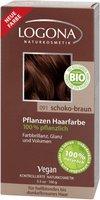 Logona Pflanzen-Haarfarbe-Pulver Schoko-Braun (100g)
