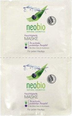 Neobio Feuchtigkeitsmaske (2 x 7,5ml)