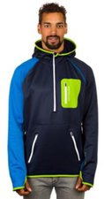 Ortovox Fleece (MI) Zip Neck Hoody M Strong Blue