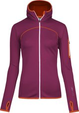 Ortovox Merino Fleece Hoody W Dark Very Berry