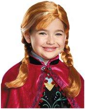 Disguise Frozen Anna Child Wig