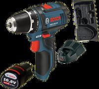 Bosch GSR 10,8-2-LI Professional 1 x 2,0 Ah + L-Boxx (0 601 868 109C)