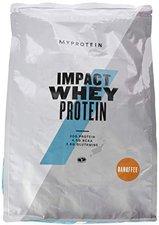 MyProtein Impact Whey Protein 2500g Banane und Karamell