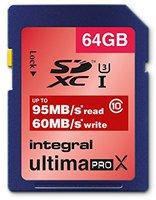 Integral UltimaPro X SDXC 95/60MB UHS-I U3 - 64GB