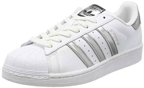 Adidas Superstar W ftwr white/silver metallic/core black