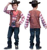 Funny Fashion Kostüm 3D Cowboy T-Shirt