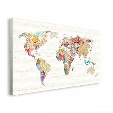 """Home Affaire Kunstdruck  """"World of Patterns """" (135x78cm)"""