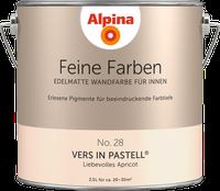Alpina Farben Vers in Pastell 2,5 l