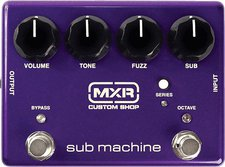 Jim Dunlop MXR Sub Machine Ovtave Fuzz CSP210