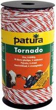 Patura Tornado Litze 400 m weiß-orange (180601)