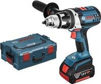 Bosch GSR 18 VE-2-LI Professional 2 x 4,0 Ah + 31-tlg. Wiha-Werkzeug-Set (0 615 990 H5E)