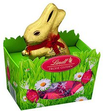 Lindt Frohe Ostern Goldhase im Nest (150g)