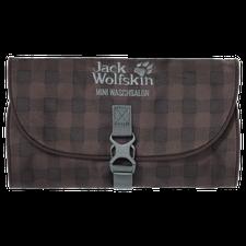 Jack Wolfskin Mini Waschsalon mocca classic check