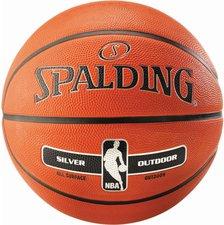Spalding NBA Silver Outdoor Kinder