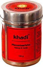 Khadi Naturprodukte Pflanzenhaarfarbe Henna und Amla (150g)