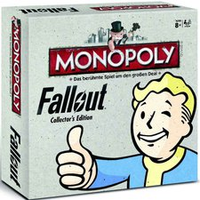 Winning Moves Monopoly Fallout Collectors Edition