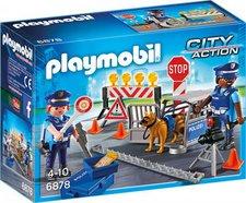Playmobil City Action Polizei-Straßensperre (6878)